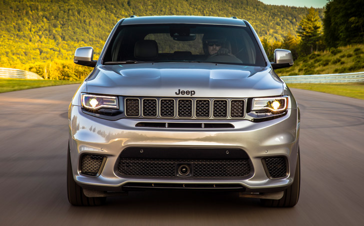 Jeep Grand Cherokee Trackhawk Reviews
