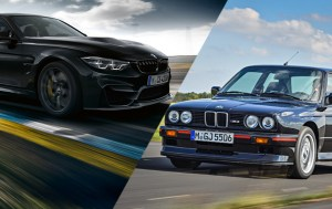 Evolution of the BMW M3