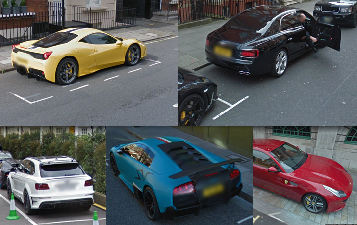 Exotic Cars In London England