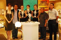 Tiffany & Co Trophies for 2012 Malaysian F1 - 15