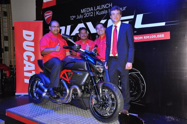 launch: ducati malaysia reveals ckd diavel (from rm109,888
