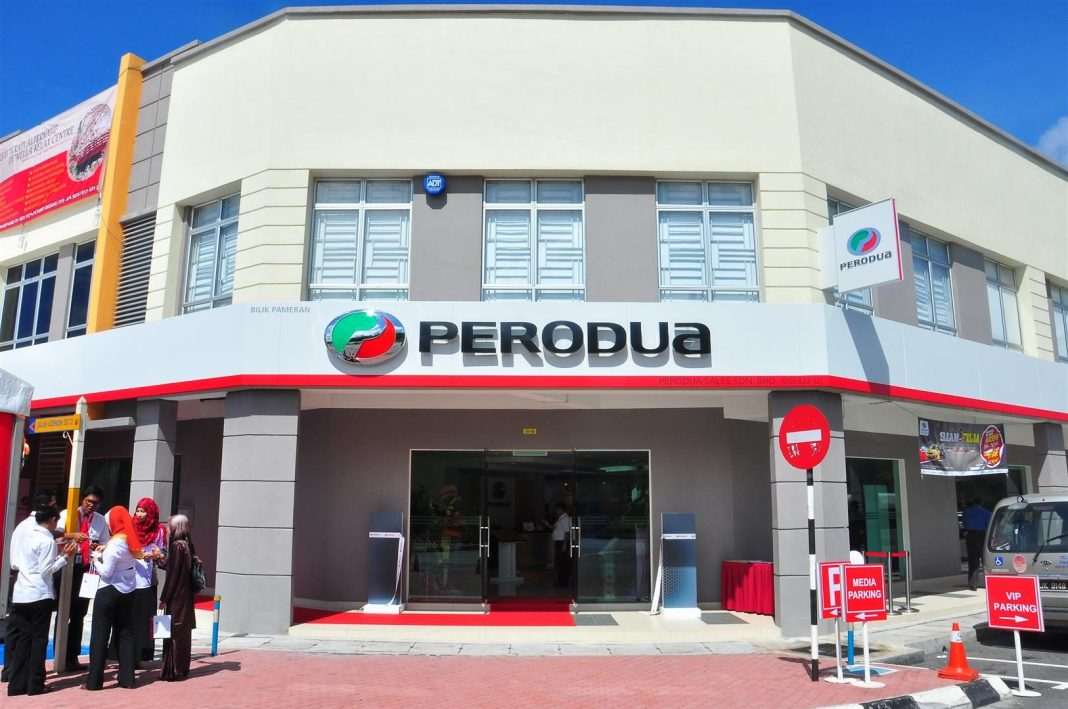 Perodua Opens New On-The-Job Training Sales Showroom