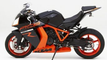 KTM RC8 with Corbin Seat - 01