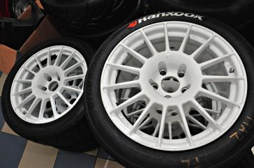 Pentagon's Used Hankook Z221 Semi-Slicks from TTA Rnd 2 - 01