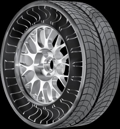 Michelin Airless Tyre - 01
