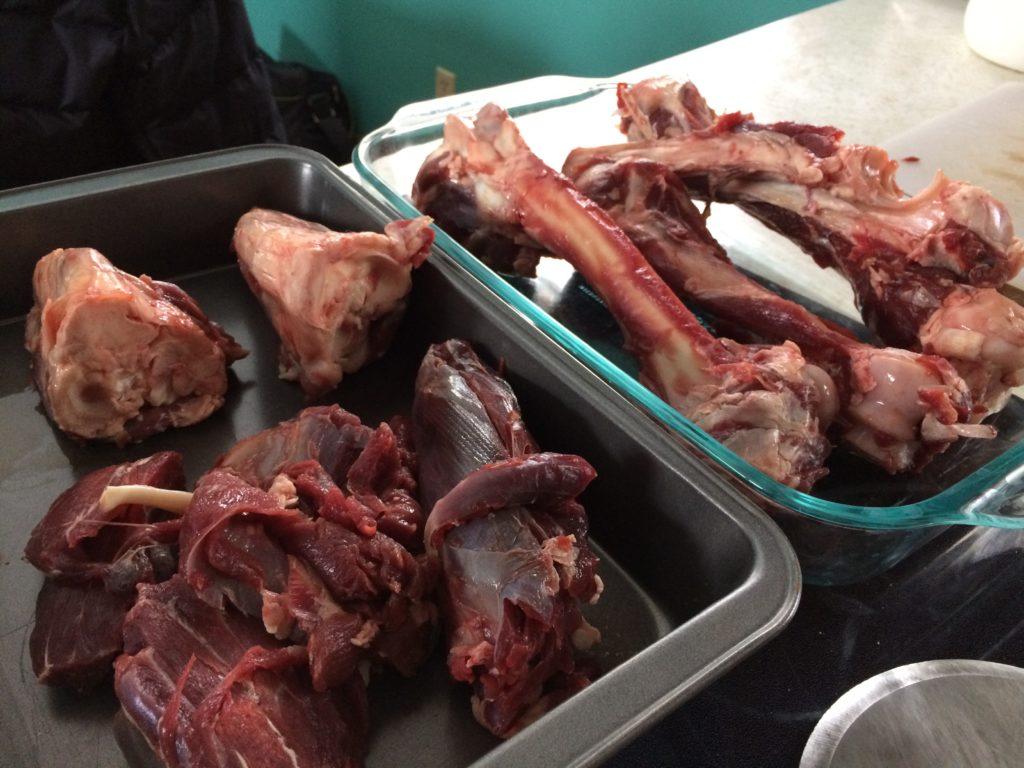 venison bone broth