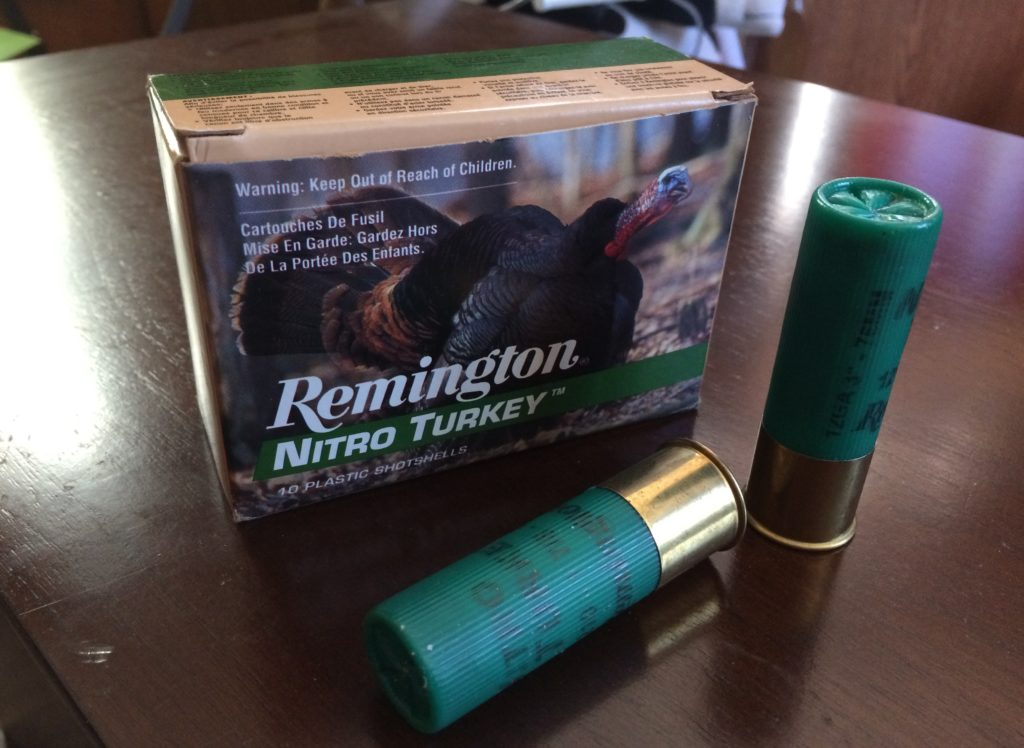 first time turkey hunting shotgun shells
