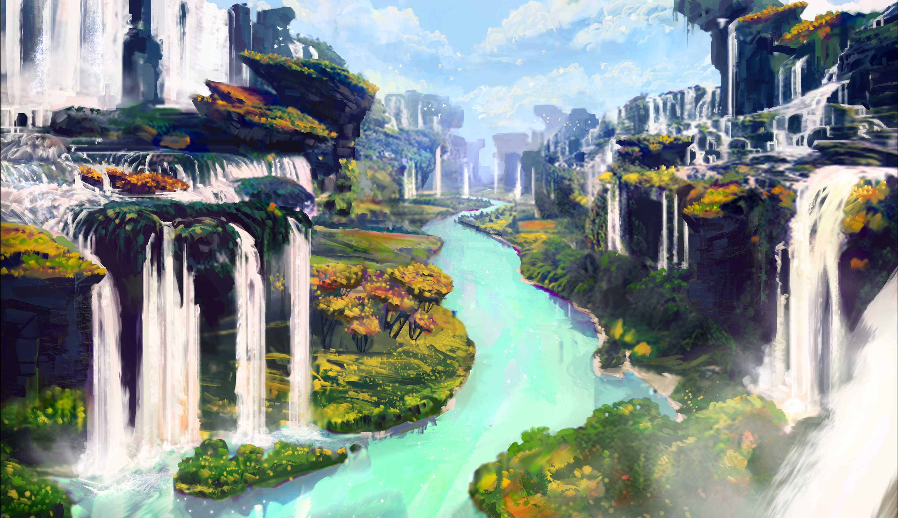 Obsidian Falls in Vanguard V