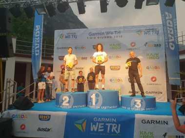 Nicola Arici a podio al Garmin WeTri