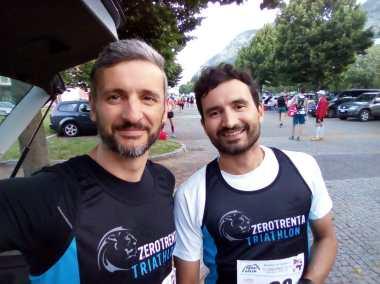 I Corsini Bros alla partenza della Proai Golem