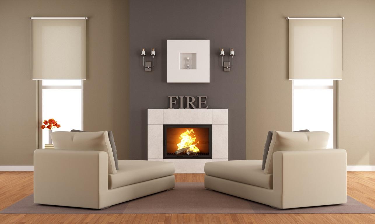 beige accent chairs chair that hangs from ceiling casa con camino: il sogno di molti italiani si realizza - zeroventiquattro.it