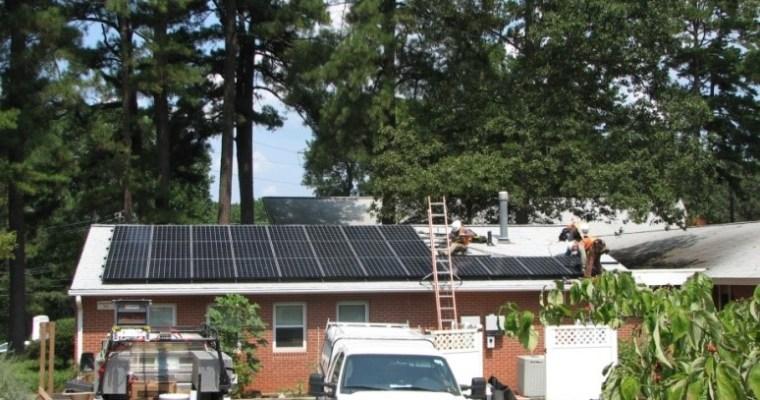 Community-Funded Solar Installation