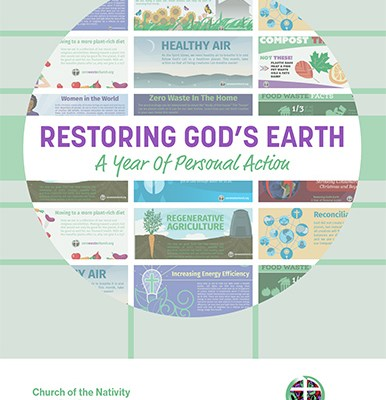 RESTORING GOD'S EARTH: A YEAR OF PERSONAL ACTION