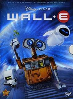 Official movie poster of Disney Pixar's Wall E