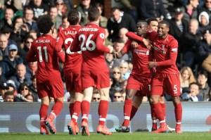 Fulham x Liverpool - Premier League 2018/2019 - Campeonato