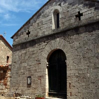 Vignoni, chiesa del paese