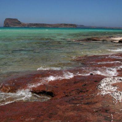 La costa sopra Balos