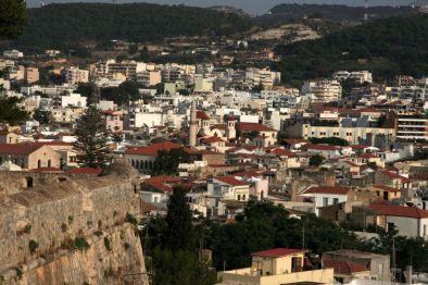 Panorama sulla città dalla Fortezza