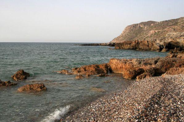 Spiaggia a Milatos