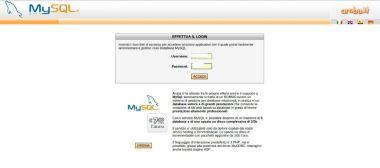 Accesso DB MySQL