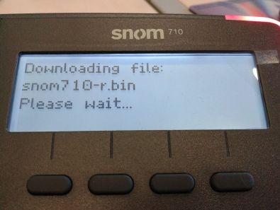 Scaricamento firmware via TFTP