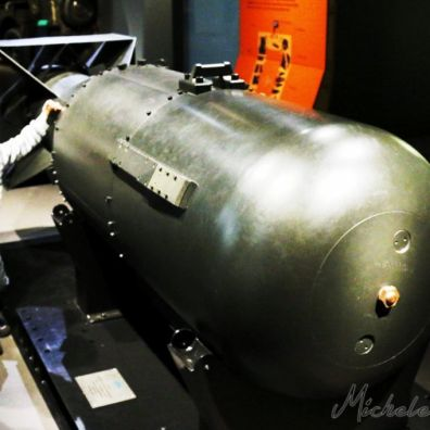 "Imperial War Museum - Bomba Atomica ""Little Boy"""
