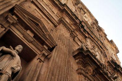 Facciata della cattedrale di Gallipoli