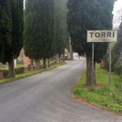 Arrivo a Torri
