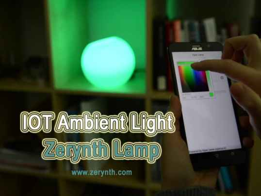 Zerynth Lamp Cover