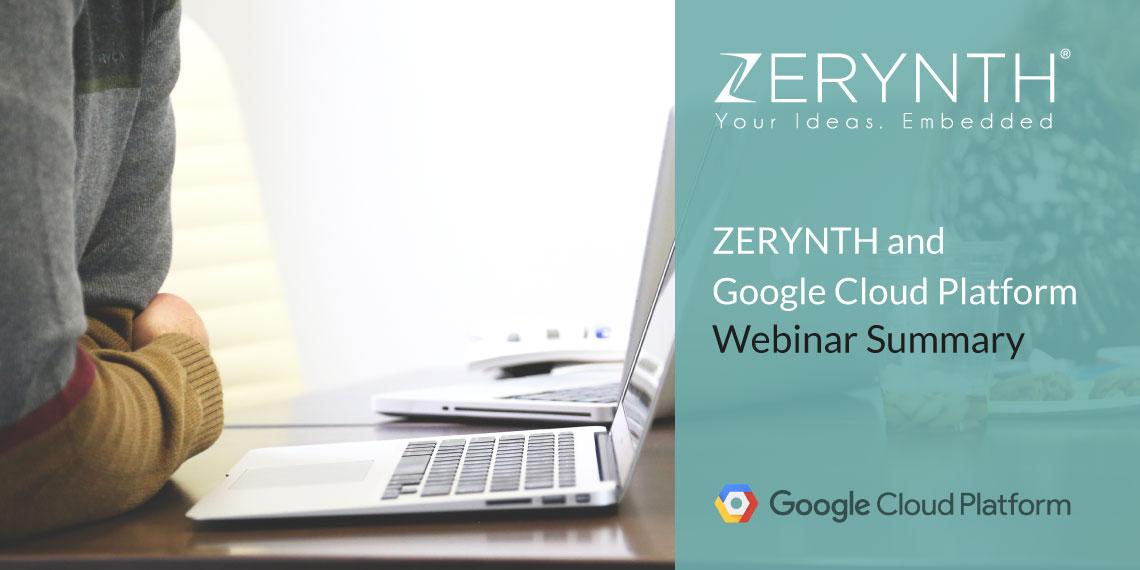 Zerynth and Gogle Cloud Platform webinar