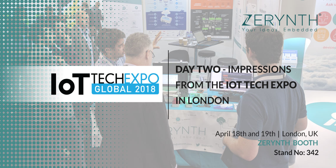 Day two – Impressions from the IoT Tech Expo in London