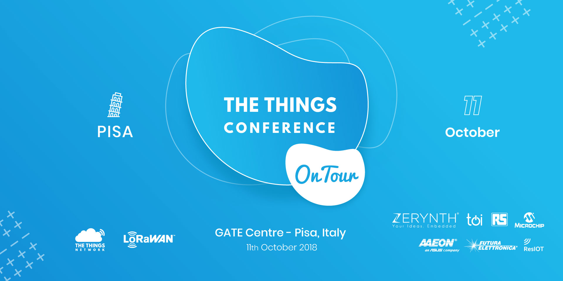 The Things Conference on Tour Italy
