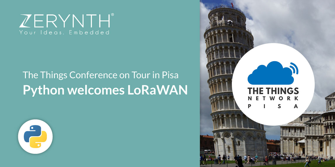 The Things Conference on Tour in Pisa – Python welcomes LoRaWAN
