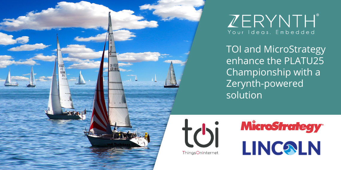 TOI and MicroStrategy enhance the PLATU25 Championship with a Zerynth-powered solution