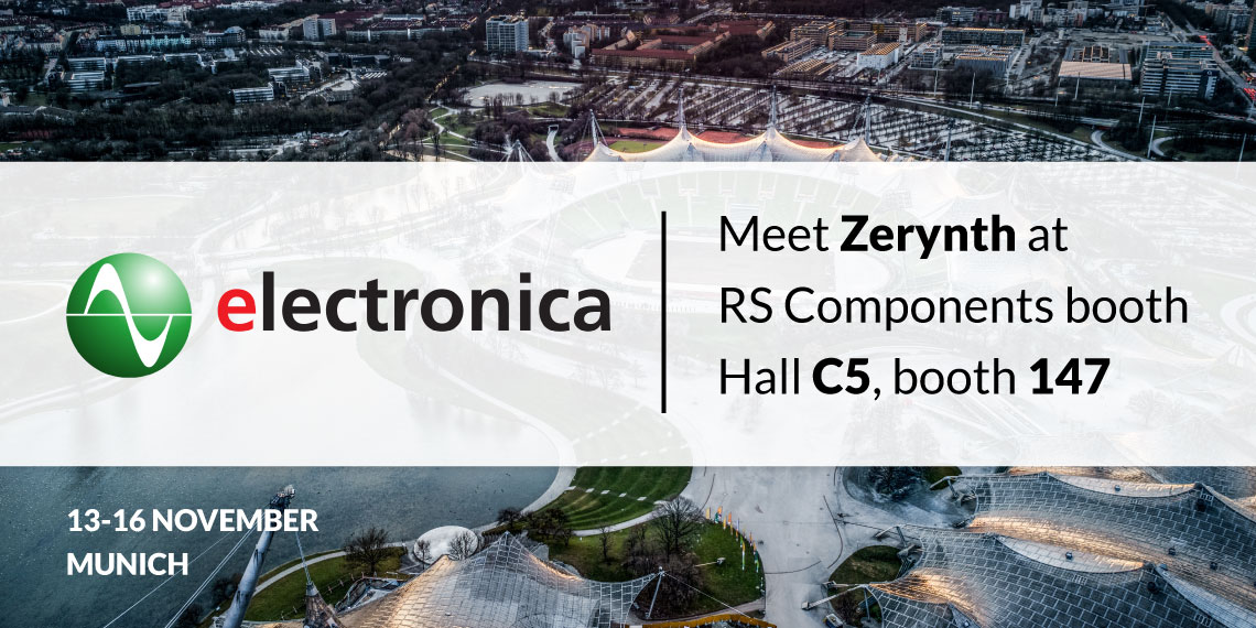 Meet Zerynth at Electronica 2018 in Munich