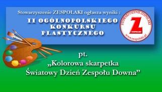 Wyniki II Ogólnopolskiego Konkursu Plastycznego