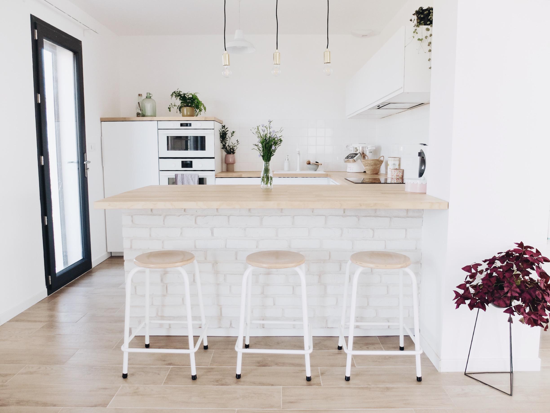 Construction Maison Notre Cuisine Blanche Et épurée Avis