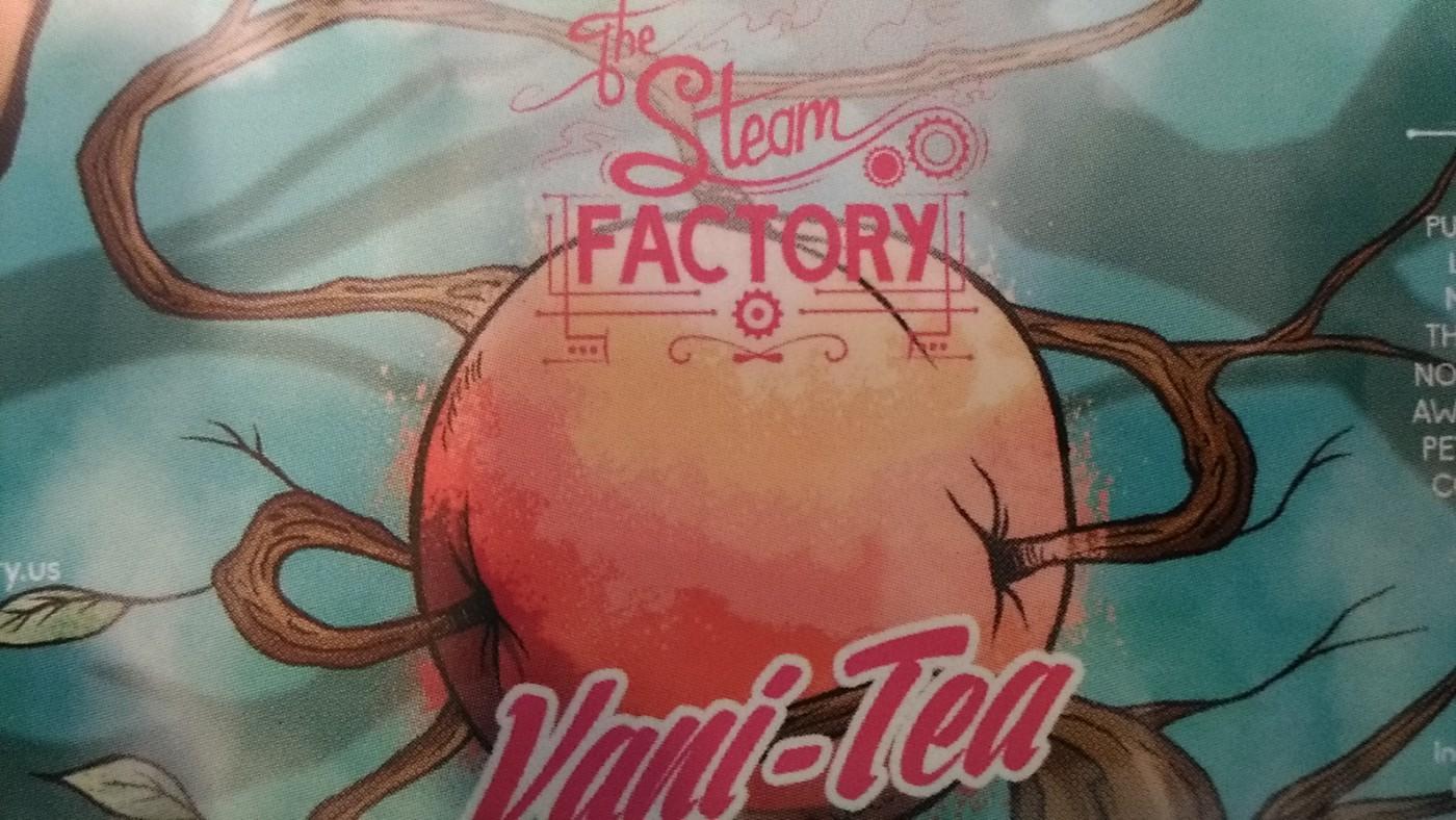 桃好きなら必ずハマるリキッド「TheSteamFactory Vani‐Tea」