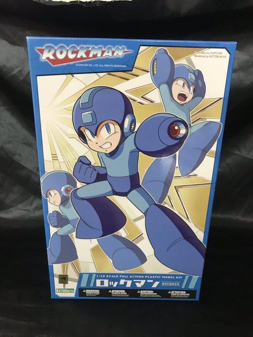 買取情報『コトブキヤのROCKMAN ロックマン リパッケージ版 [1/10スケール キャラクタープラモデル]』