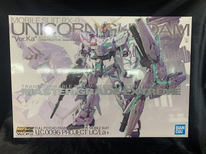 ゼスト所沢店の買取情報!!『バンダイのMGEX 1/100 ユニコーンガンダム Ver.Ka』
