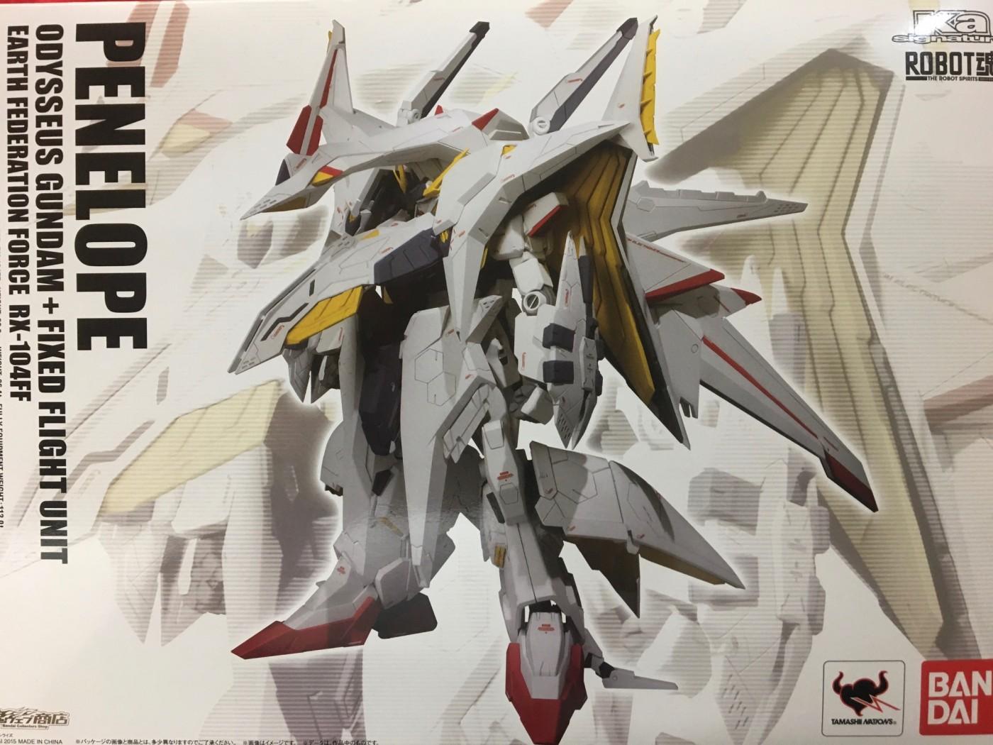 買取情報『バンダイのROBOT魂 RX-104FF ペーネロペー』