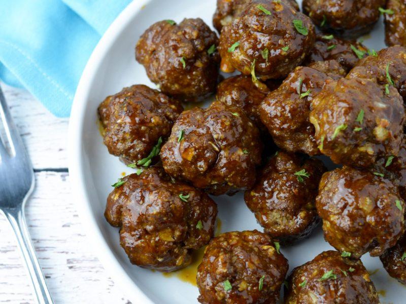 Korean Style Meatballs
