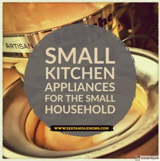 Small Kitchen Appliances for the Small Household