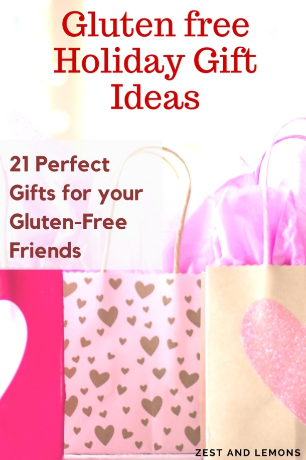 Holiday gift guide for your gluten free friends (gluten free, cooking, kitchen, gifts, holiday, gift ideas) - Zest and Lemons