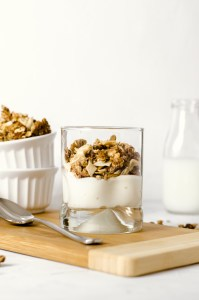 Cashew Coconut Granola, Snap Fitness Recipe - Zest and Lemons