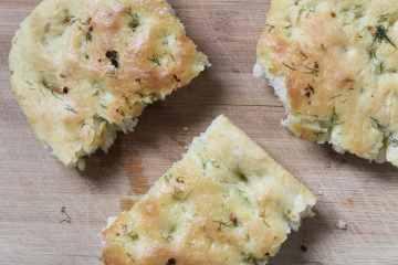 Garlic Dill Focaccia Bread