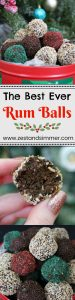 The Best Ever Rum Balls - these are the best way to bring some holiday cheer to your friends and family! Chocolatey and boozy, this no bake holiday favourite will be the perfect treat to have on hand for the holidays.