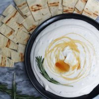 Rosemary & Honey Whipped Feta Dip