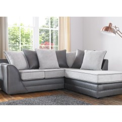Emerald Corner Sofa Bed In Living Room Picture Missouri Fabric Silver