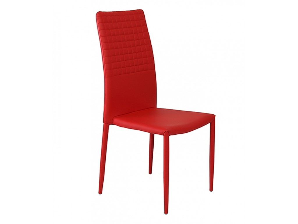 faux leather dining chair covers emerald green accent cuba stackable red